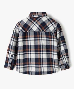 Chemise garçon à carreaux avec doublure sherpa vue3 - Nikesneakers (ENFANT) - Nikesneakers