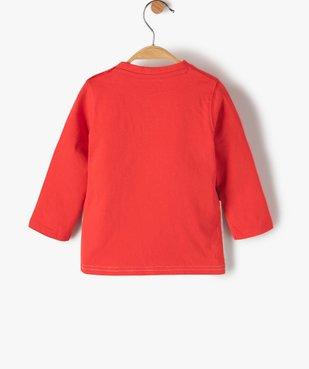 Tee-shirt bébé garçon tricolore – Lulu Castagnette vue3 - LULUCASTAGNETTE - GEMO