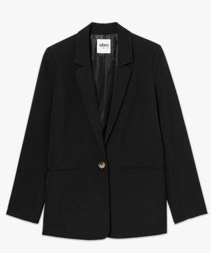 Veste femme coupe blazer  vue4 - GEMO(FEMME PAP) - GEMO