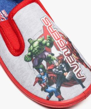 Chaussons garçon à enfiler imprimés - Avengers vue6 - AVENGERS - GEMO