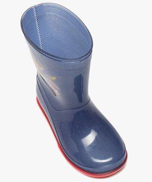 Bottes de pluie garçon à semelle crantée – Pat Patrouille vue5 - PAT PATROUILLE - GEMO