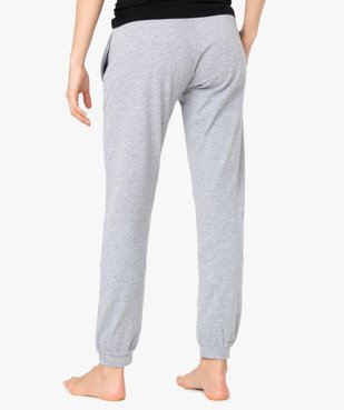 Pantalon de pyjama femme avec bas resserrés vue3 - Nikesneakers(HOMWR FEM) - Nikesneakers