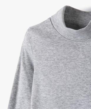 Tee-shirt garçon à manches longues et col montant vue2 - GEMO (ENFANT) - GEMO