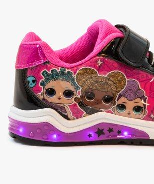 Baskets fille bicolores avec semelle clignotante – LOL vue6 - LOL - GEMO