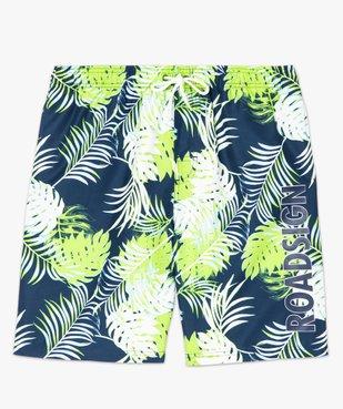 Short de bain homme motif tropical - Roadsign vue4 - ROADSIGN - GEMO