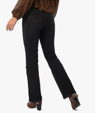 Jean femme coupe Bootcut taille haute vue3 - GEMO(FEMME PAP) - GEMO