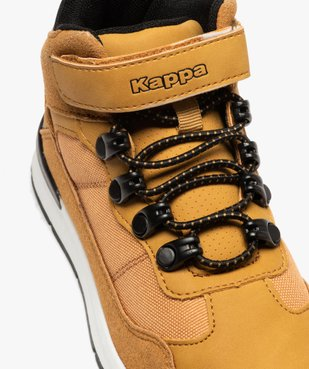 Baskets garçon mid-cut à scratch – Kappa Kensington vue6 - KAPPA - GEMO