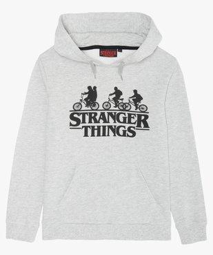 Sweat garçon à capuche avec motif – Stranger Things vue1 - STRANGER THINGS - GEMO