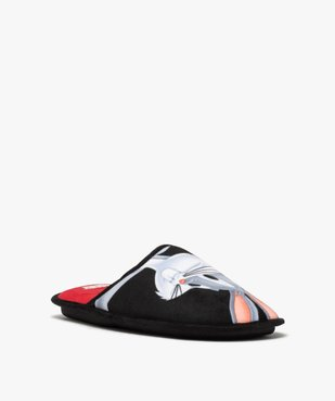 Chaussons homme mules en velours ras – Bugs Bunny vue2 - LOONEY TUNES - GEMO