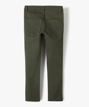 Pantalon garçon coupe skinny en toile extensible vue4 - Nikesneakers (ENFANT) - Nikesneakers