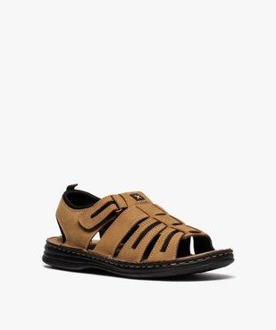 Sandales homme multibrides à scratch - Roadsign vue2 - ROADSIGN - GEMO