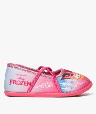 Chaussons fille avec motifs et paillettes La Reine des neiges - Disney vue1 - REINE DES NEIGE - GEMO