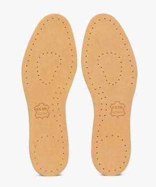 Semelles confort en cuir sur latex multi-taille vue1 - GEMO(ENTRETIEN) - GEMO