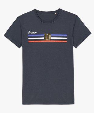 Tee-shirt homme à manches courtes imprimé football vue4 - GEMO C4G HOMME - GEMO