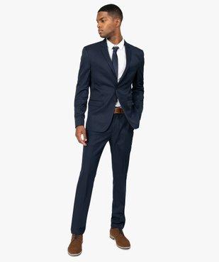 Pantalon de costume homme coupe ajustée vue5 - GEMO (HOMME) - GEMO